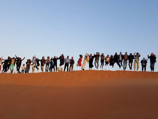Artists' Retreat in the Liwa Desert