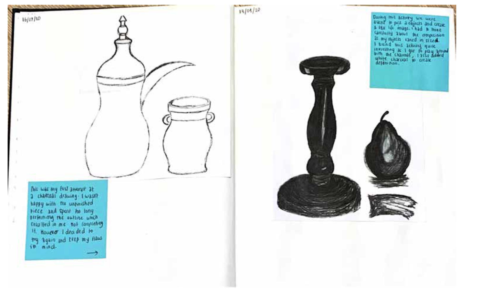 Drawing Sketchbook Example04