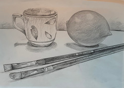 Drawing final pencil