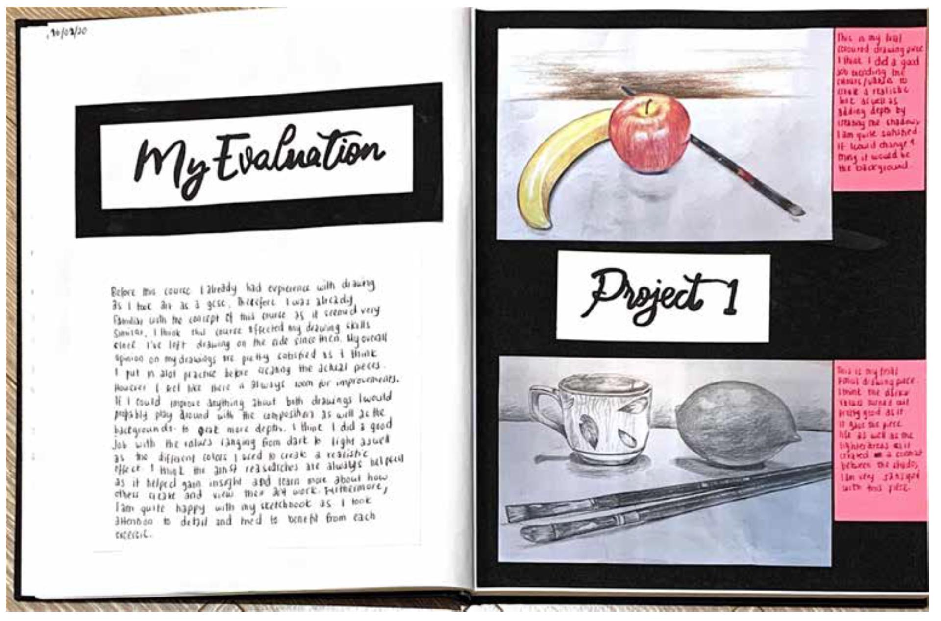 Drawing Sketchbook Example09