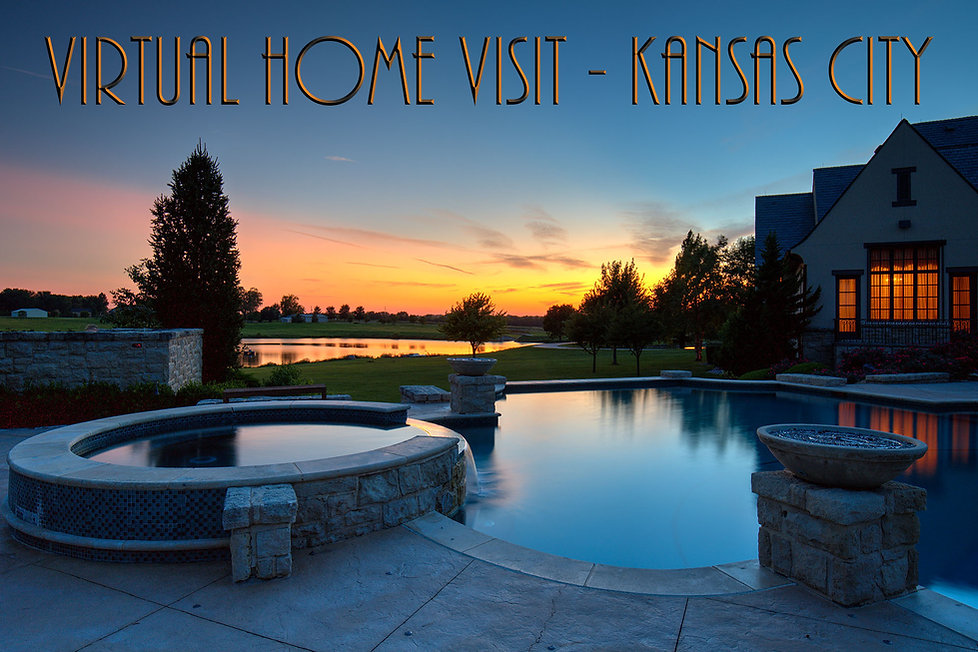 Kansas City Real Estate Photographer Night Shot