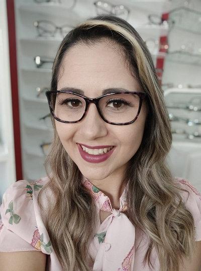 Armação Feminina RED Roxa Óculos de Grau