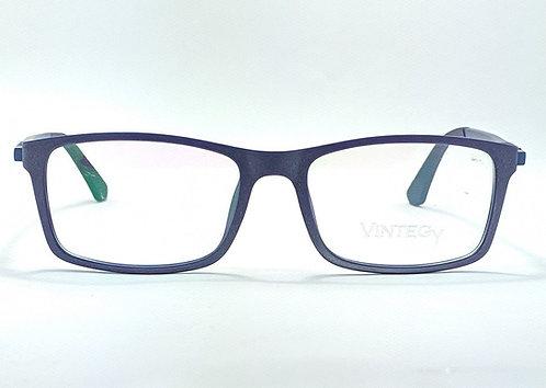 Masculina Azul Esportiva Óculos de Grau
