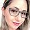 Thumbnail: Armação Feminina Vintegy Cinza Óculos de Grau