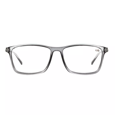 Armação Chilli Beans Cinza Transparente Óculos de Grau