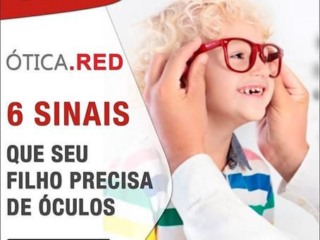 6 sinais que seus filhos precisam de óculos