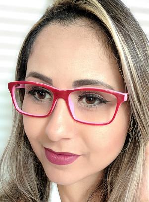 Armação Feminina Vintegy Preta Óculos de Grau