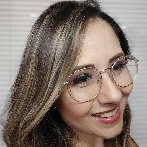 Armação Feminina Vintegy  Óculos de Grau