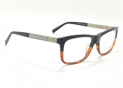 Armação Vintegy Preto/Marrom Óculos de Grau