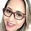 Thumbnail: Armação Feminina Vintegy Vinho azul Óculos de Grau
