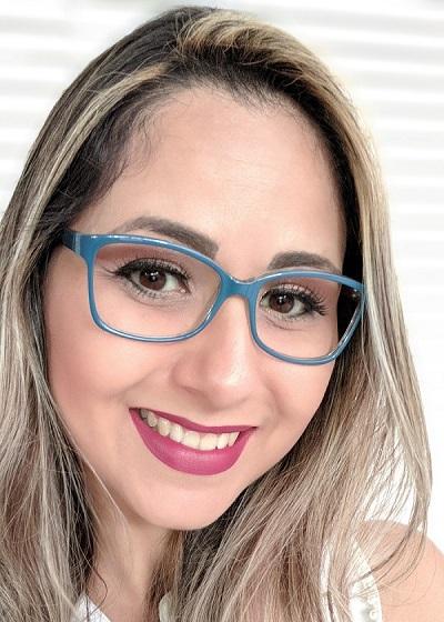 Armação Feminina Carraro Azul Óculos de Grau