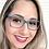 Thumbnail: Armação Feminina Carraro Azul Óculos de Grau