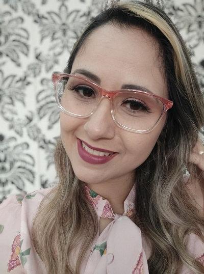 Armação Feminina RED Degradê Óculos de Grau