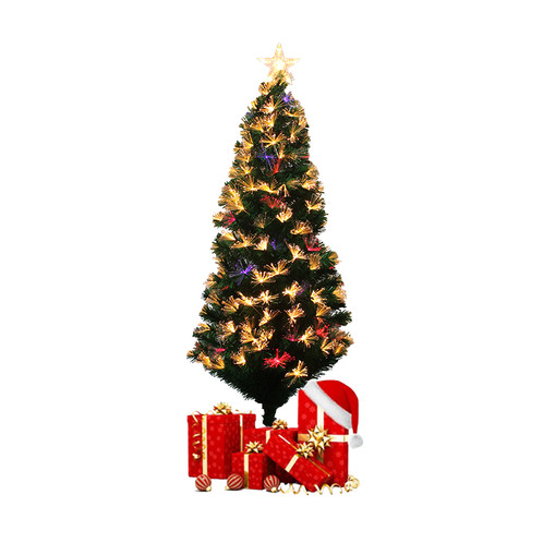 Artificial Christmas Tree With LED Multicolor Lights (120cm) | voxtera