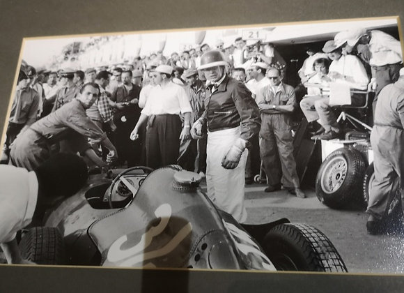 Mike Hawthorn at Monza photograph.