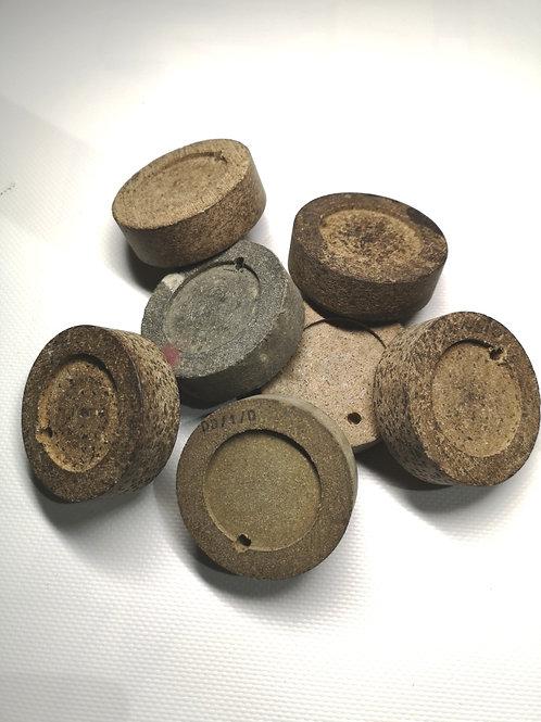 541 Round brake pad set (4)