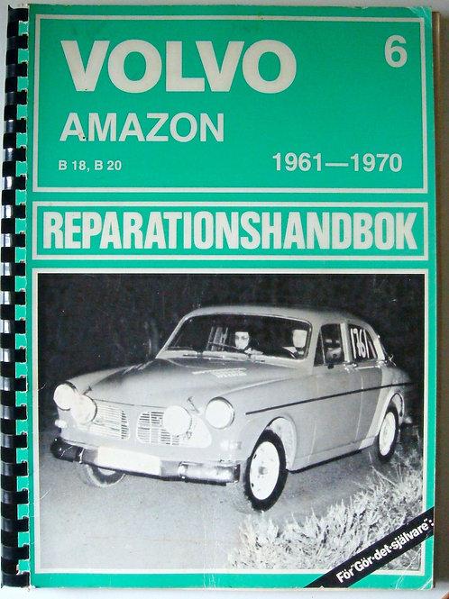 Volvo Amazon Parts Book