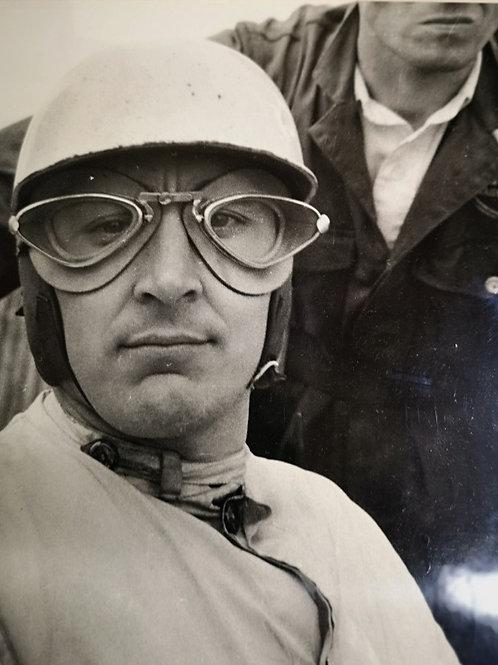 Tony Brooks framed photograph