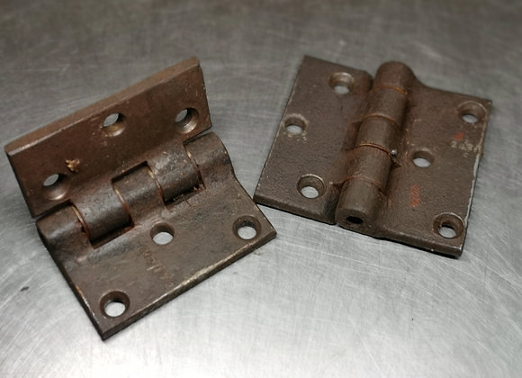 Pair of 541 door hinges