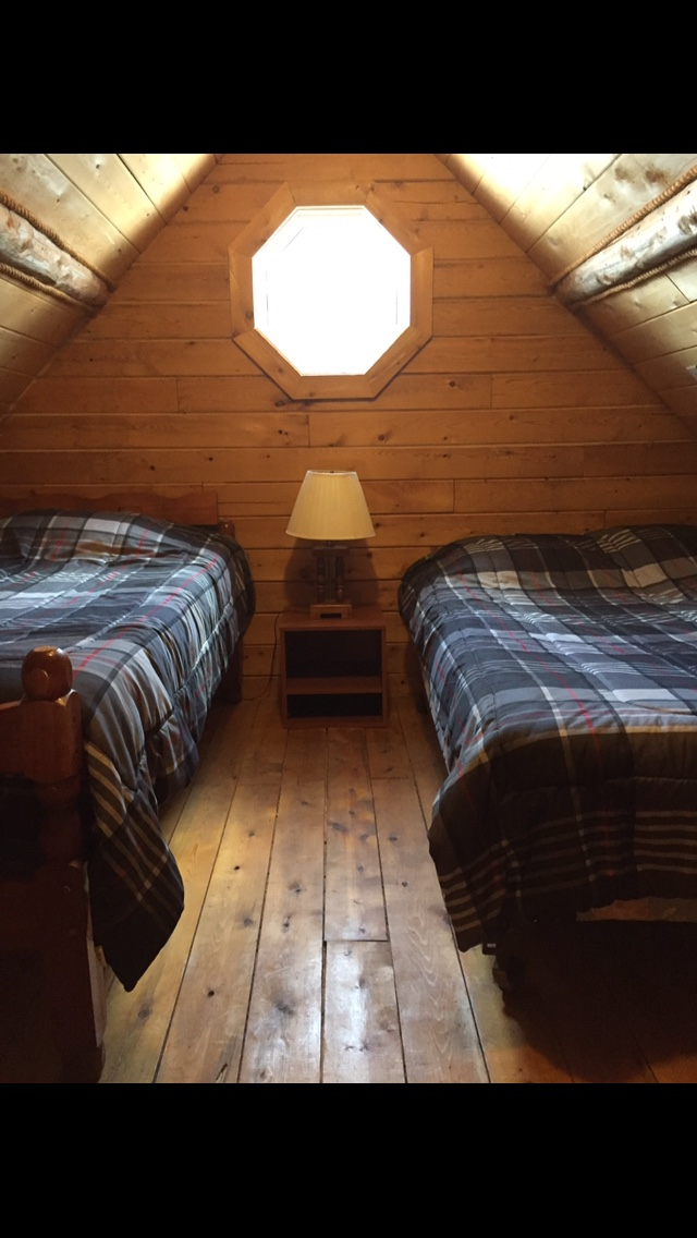 Loft with twin and full bed