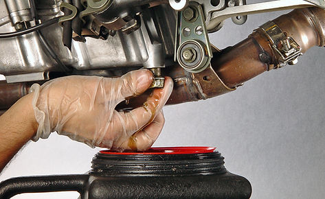 SAN DIEGO MOTORCYCLE OILCHANGE