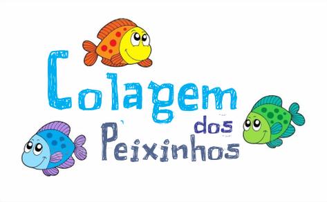 Colagem dos Peixinhos