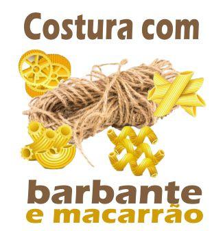 Costura com Barbante e Macarrão