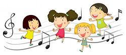 criancas-felizes-dancando-com-notas-de-m