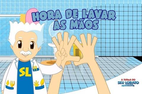 Hora de Lavar as Mãos