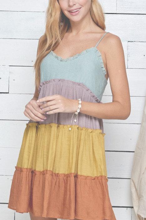 Tiered aline dress (5/7/21)