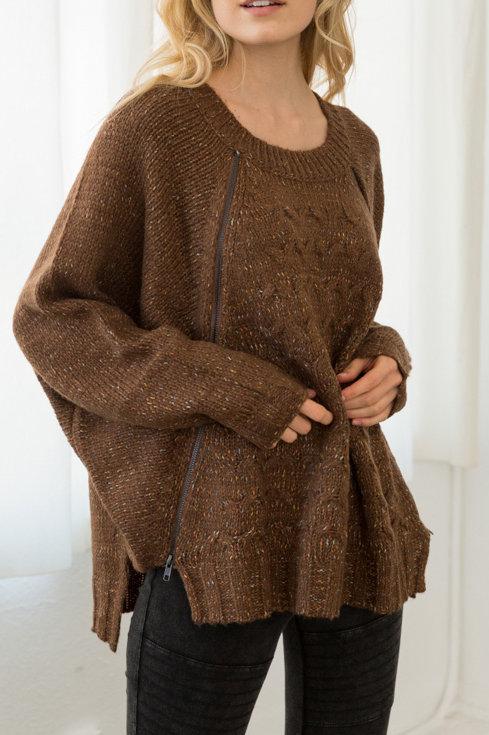 Sprinkled detail sweater
