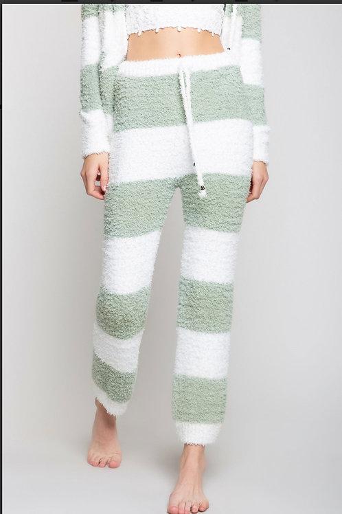 Striped cozy Pants