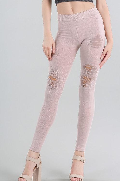 Nikibiki distressed leggings