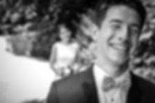 Mariage de Pauline et Colas Brissac, Stéphane Guibert photographe mariage Angers , Première rencontre, first look, les dernières secondes avant la découverte.