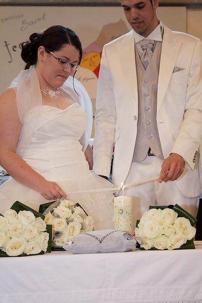 photographe mariage Adeline et Thomas  Angers stéphane Guibert - église, récéromie religieuse