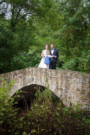 Mariage Emmanuelle et Baptiste, Loire atlantique, Stéphane GUIBERT photographe Angers, photo de couple sur le pont