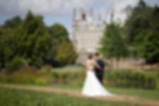 Mariage de Pauline et Colas Brissac, Stéphane Guibert photographe mariage Angers , Photos de couple, la ballade dans le parc du chateau.