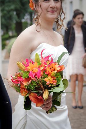 Mariage Emmanuelle et Baptiste, Loire atlantique, Stéphane GUIBERT photographe Angers, le bouquet de la mariée