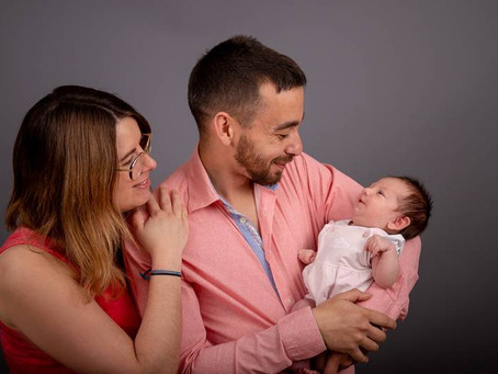 Séance Famille avec la petite Déa
