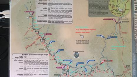 River Access Tracks Along the Mitta