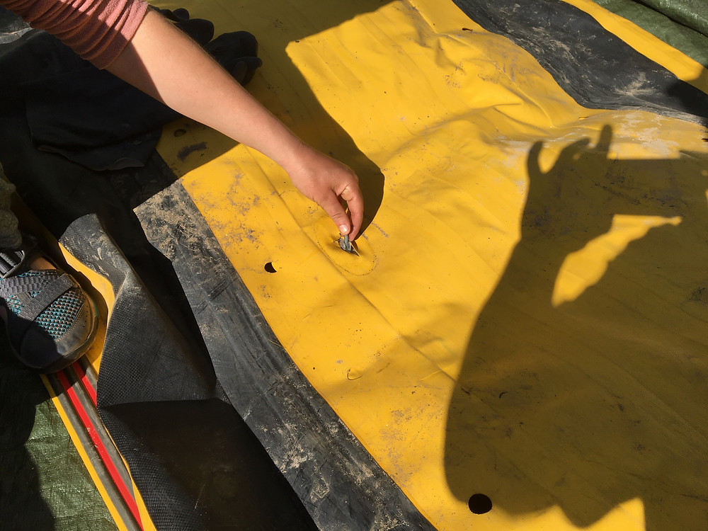 quick raft repair