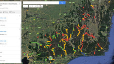 Whitewater River maps for Victoria