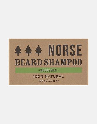 Norse Beard Shampoo – Woodsman100g