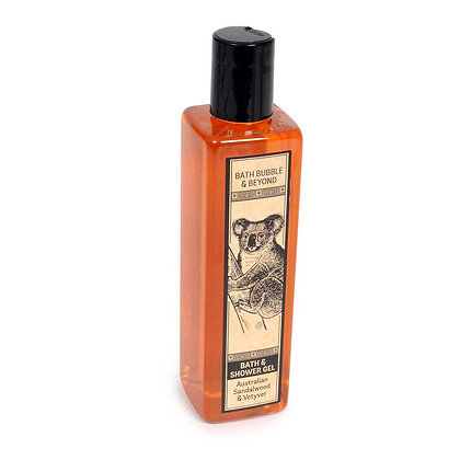 Australian Sandalwood & Vetyver Bath and Shower Gel 250ml