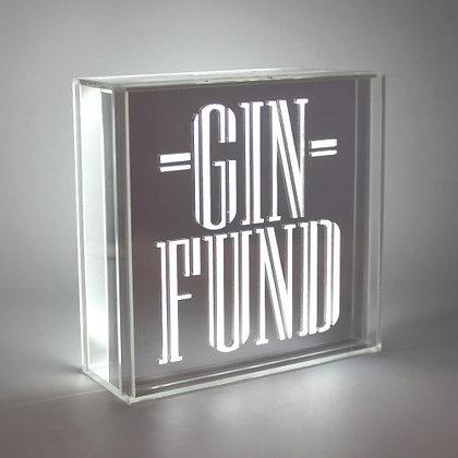 Acrylic Box LED Money Box – Gin Fund