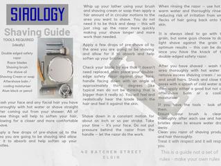 Sirology Shaving Guide