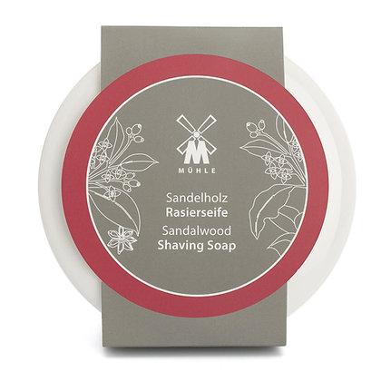 MÜHLE Porcelain Dish incl. Sandalwood Shaving Soap 65g