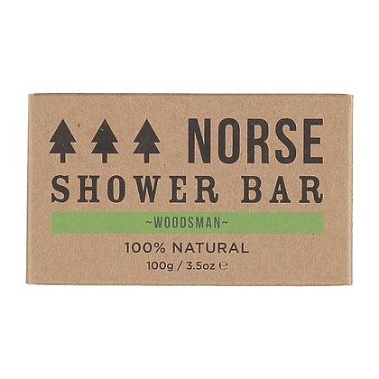 Norse Shower Bar – Woodsman 100g