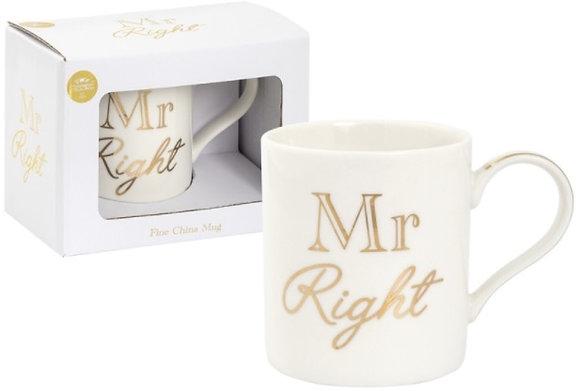 Mr Right Mug
