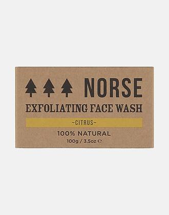 Norse Exfoliating Face Wash – Citrus